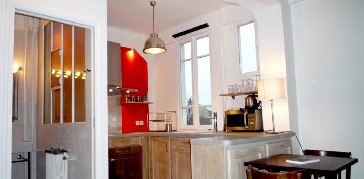 Renovation d'une cuisine au Trocadéro